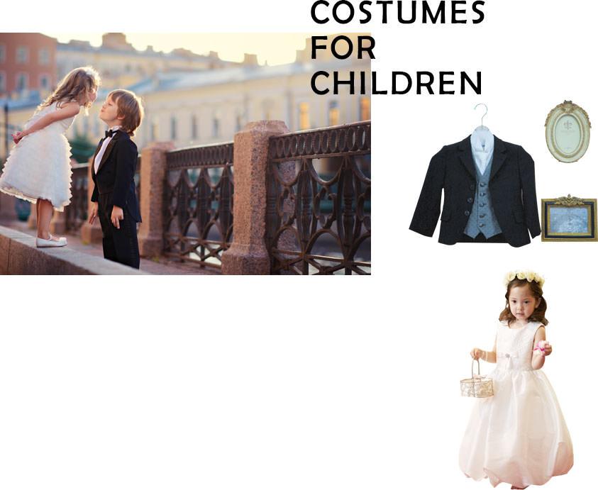 お子様の衣装 costume for child