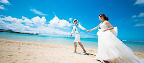 人気のハワイ挙式やビーチフォト、こだわりのドレスプラン