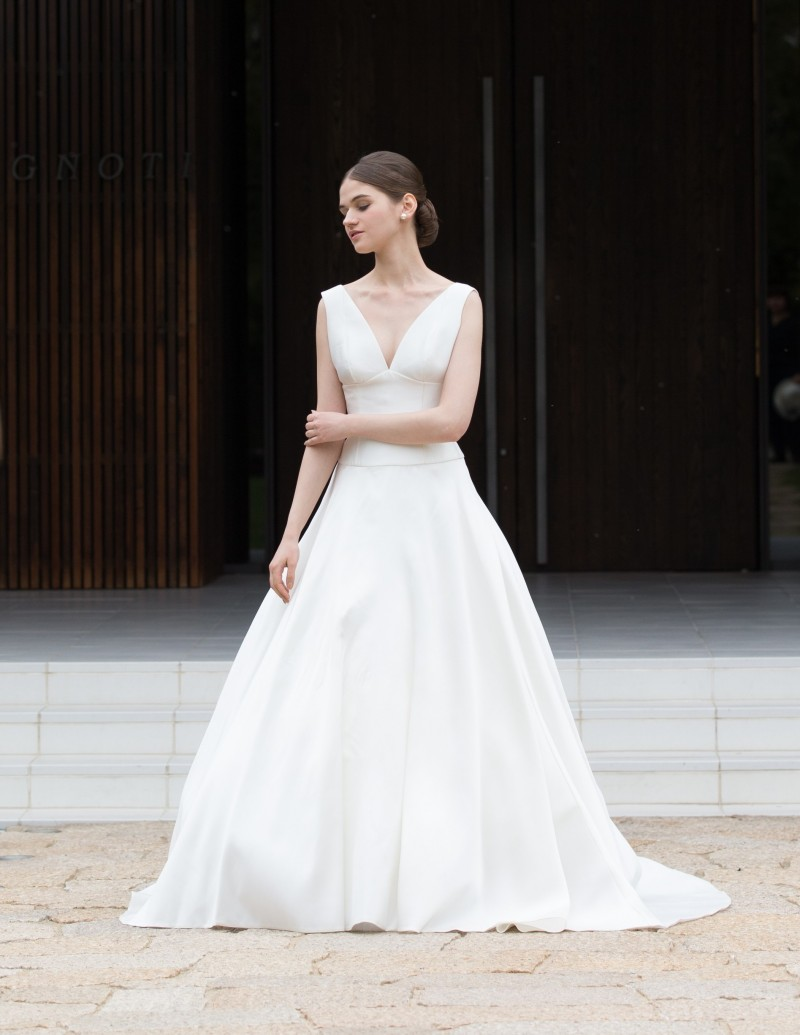 体型別ウエディングドレス Aライン