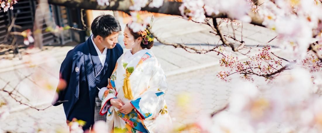 桜 結婚式