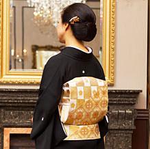 袋帯と小物のコーディネート