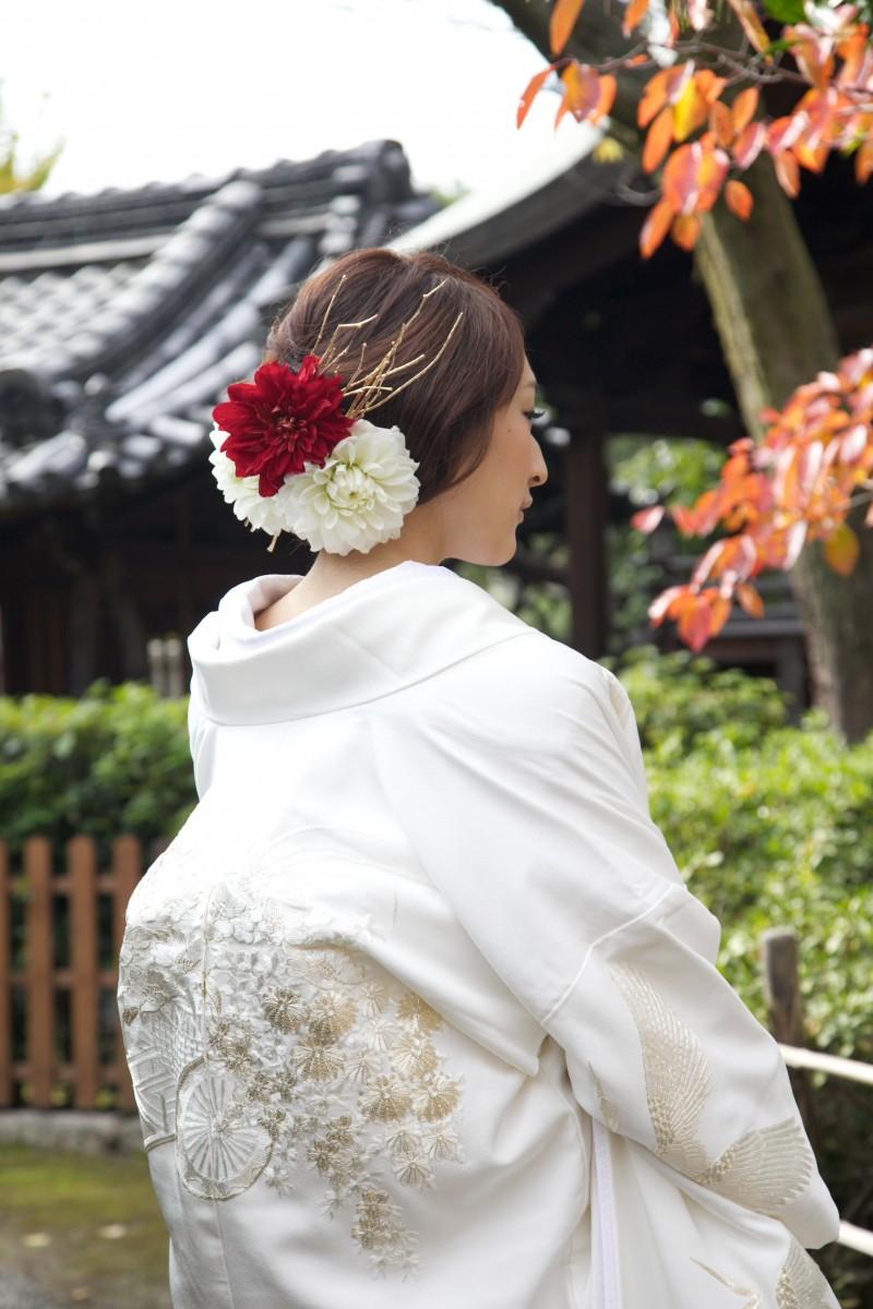 鶴に花車【3】