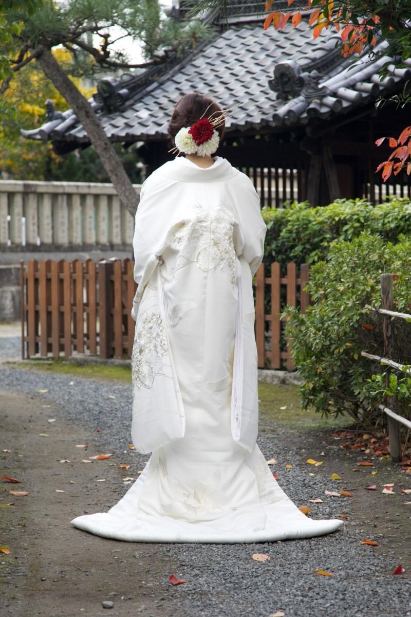 鶴に花車【2】