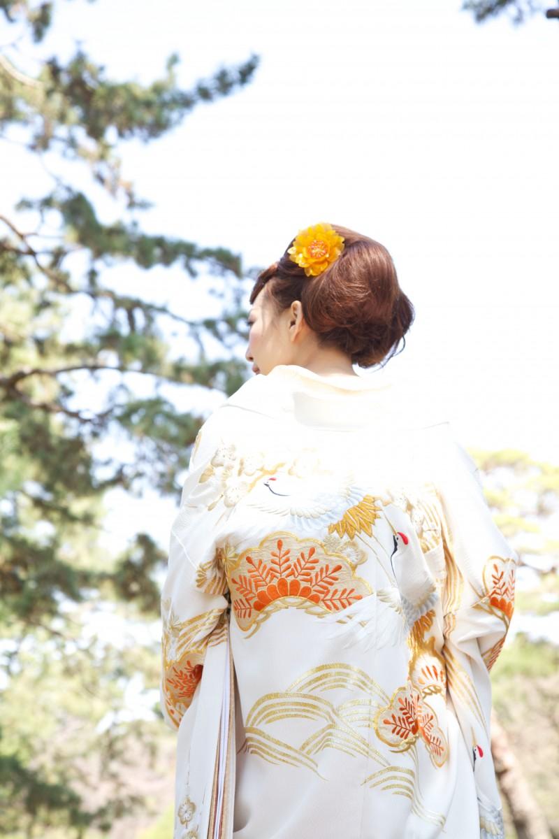 鶴松金刺繍【3】
