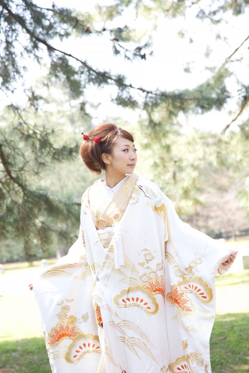 鶴松金刺繍【4】