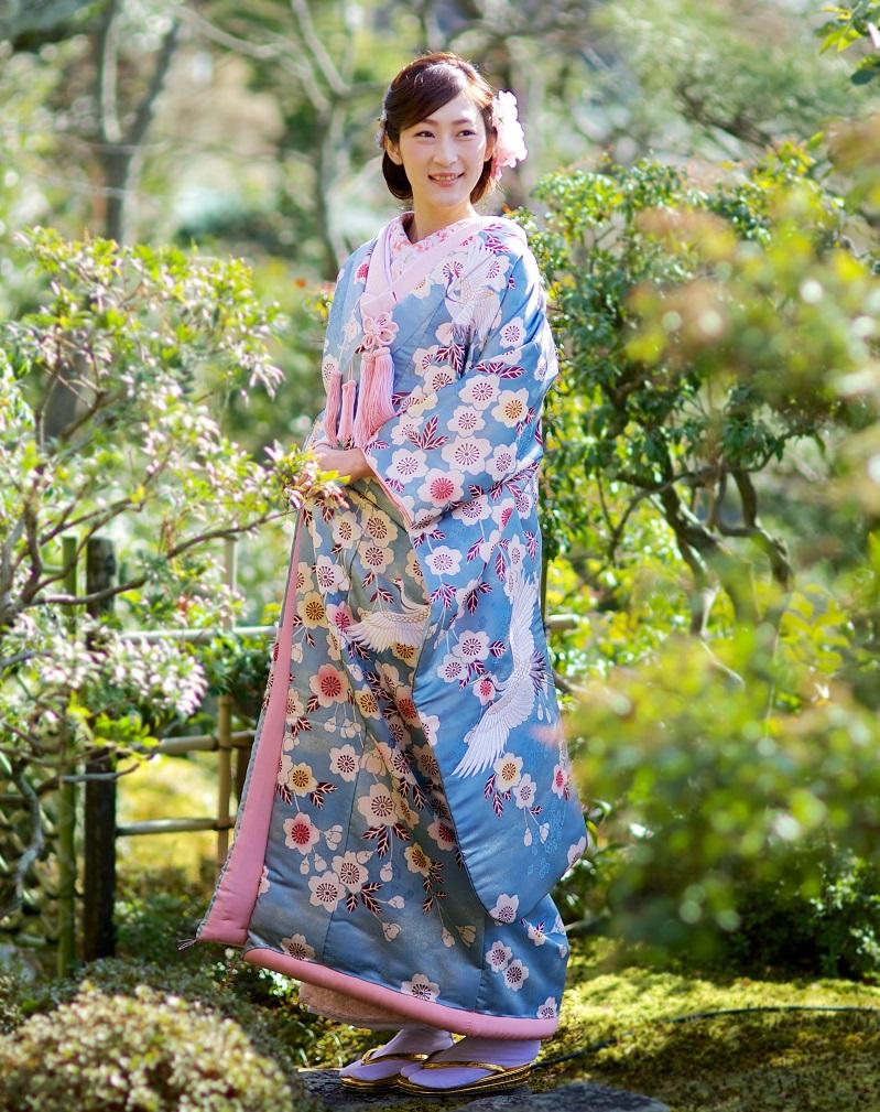 桜花鶴の舞【1】
