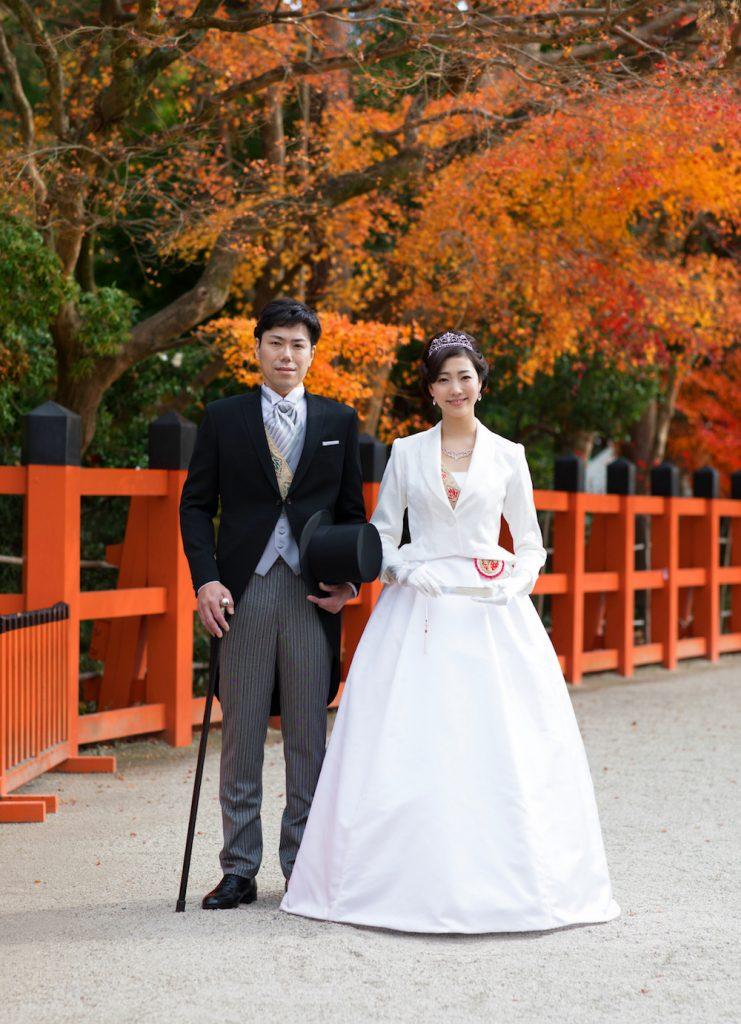 上賀茂神社オリジナルドレスのご紹介**  TAGAYA BRIDAL \u2013 京都